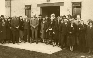 Opening of the Hall 23rd October 1931